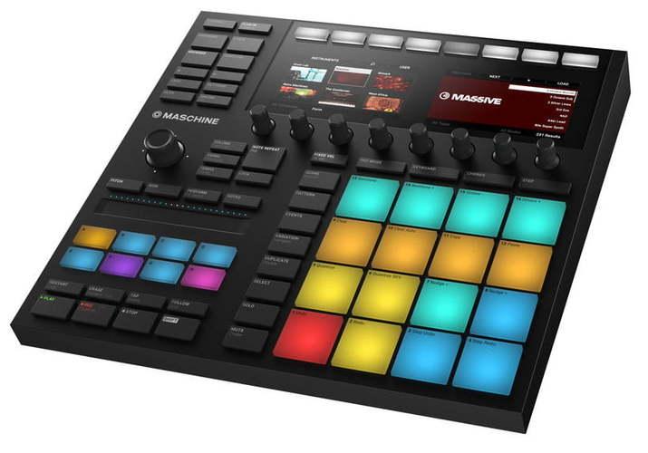 MIDI, Dj контроллер Native Instruments Maschine MK3 Black ботинки native native na723amxna37