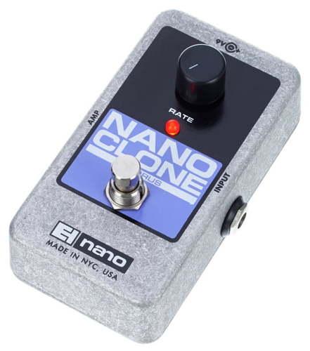Педали Chorus, Flanger, Phaser Electro-Harmonix Nano Clone педаль wah electro harmonix nano doctor q