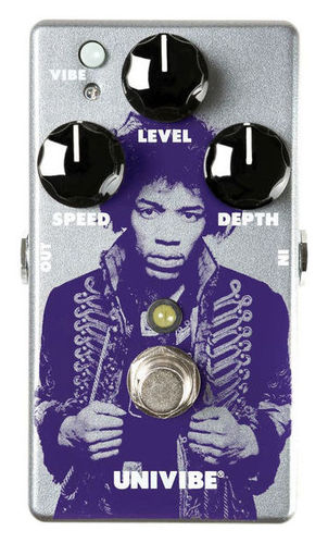 Педали Chorus, Flanger, Phaser DUNLOP Jimi Hendrix Univibe LTD виниловая пластинка the jimi hendrix experience electric ladyland