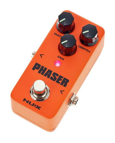 Педали Chorus, Flanger, Phaser Nux Mini Core SE Phaser nux pmx 2 multi channel mini mixer 30