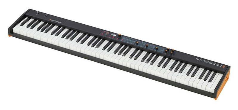 MIDI-клавиатура 88 клавиш Studiologic Numa Compact 2 midi клавиатура 88 клавиш miditech i2 stage 88