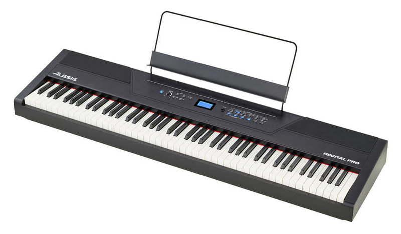 Alesis Recital Pro midi контроллер alesis sample pad