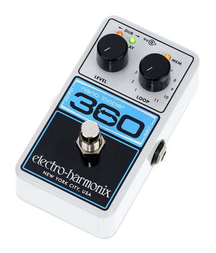 Electro-Harmonix 360 Nano Looper педаль wah electro harmonix nano doctor q