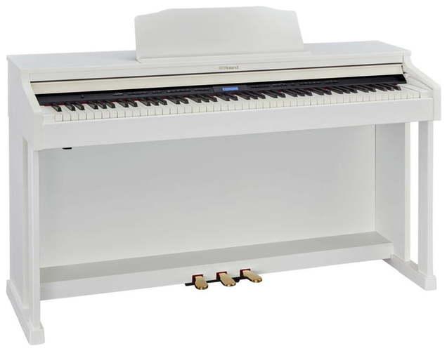 Roland HP601-WH+KSC-92-WH roland rp401r wh