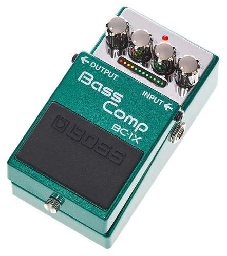 Педаль Compressor Boss BC-1X Bass Compressor педаль эффектов boss cp 1x