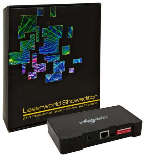Программа управления лазерами Laserworld Showeditor Set incl. Interface цены онлайн