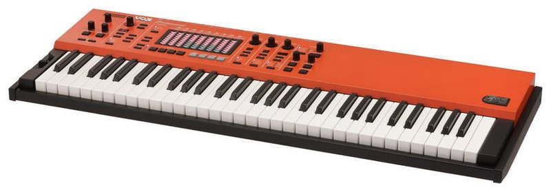 MIDI-клавиатура 61 клавиша VOX Continental 61 midi клавиатура 61 клавиша miditech i2 61 black edition