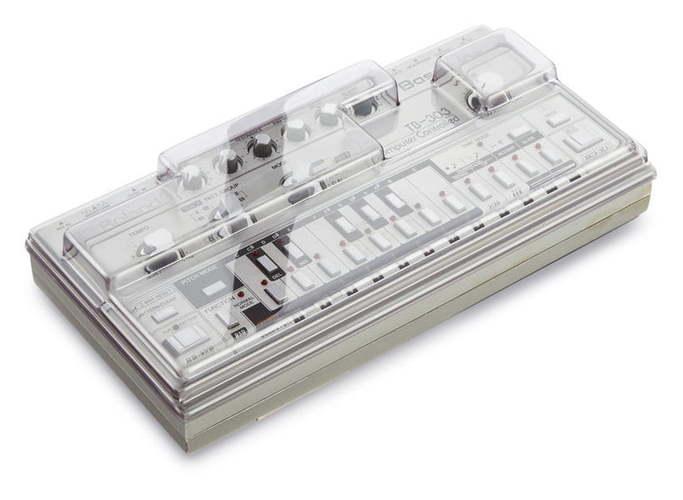 Защитная крышка и мягкий чехол Decksaver Roland TB-303 чехол для клавишных roland cb jdxi
