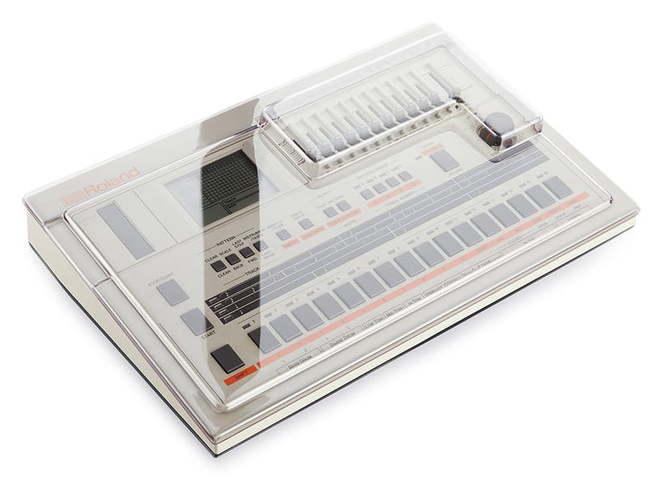 Защитная крышка и мягкий чехол Decksaver Roland TR-707 драм машина roland aira tr 8