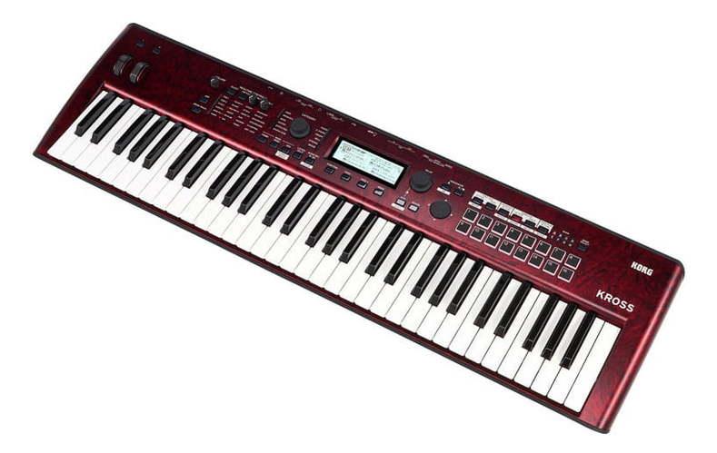 Синтезатор Korg Kross 2-61-RDM midi клавиатура 61 клавиша korg microkey 61 mkii