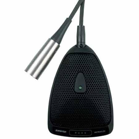 Поверхностный микрофон Shure MX393-C микрофон для конференций shure mx412 c