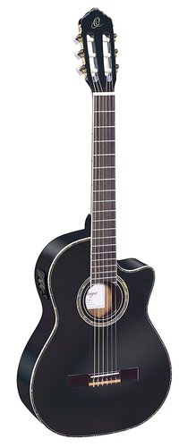 Классическая гитара 4/4 Ortega RCE141BK Family Series Pro гитара классическая 3 4 в москве