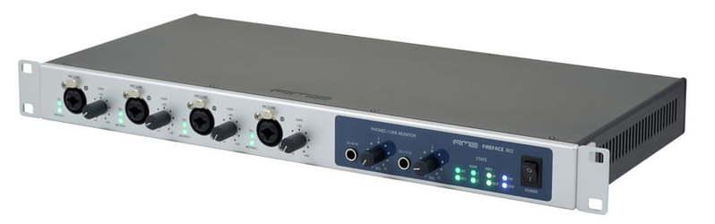 Звуковая карта внешняя RME Fireface  802 звуковая карта внешняя motu 16a