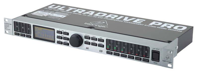 Кроссовер для звука Behringer DCX 2496 ULTRADRIVE PRO