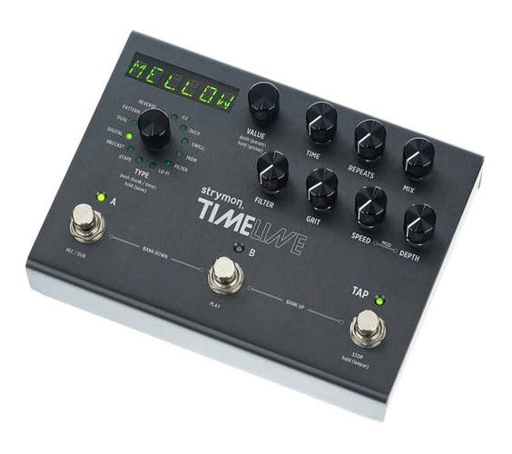 Strymon Timeline педаль reverb delay strymon big sky