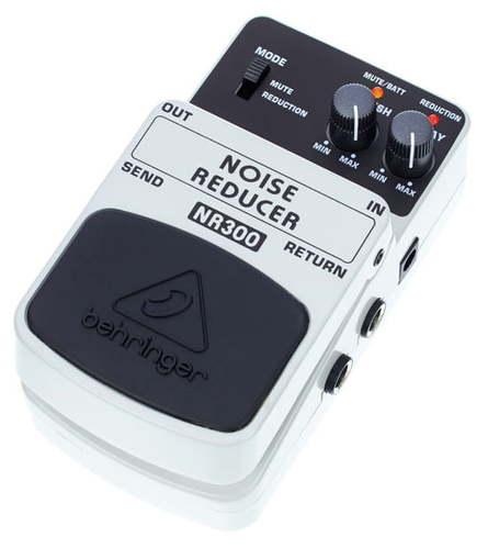 Педаль Noise Gate Behringer NR300 Noise Reducer behringer di400p