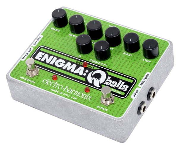 Моделирующая и специальная педаль эффектов Electro-Harmonix Enigma Q Balls педаль wah electro harmonix nano doctor q