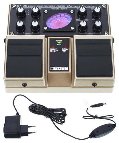 Моделирующая и специальная педаль эффектов Boss RT-20 Power-Set boss bsc 20 brn
