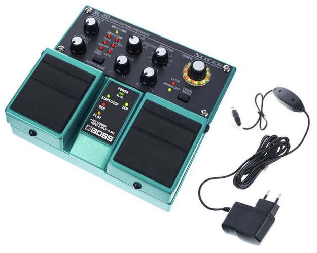 Моделирующая и специальная педаль эффектов Boss SL-20 Power-Set boss bsc 20 blk