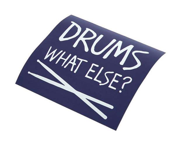 Bandshop Sticker Drums What else ? else
