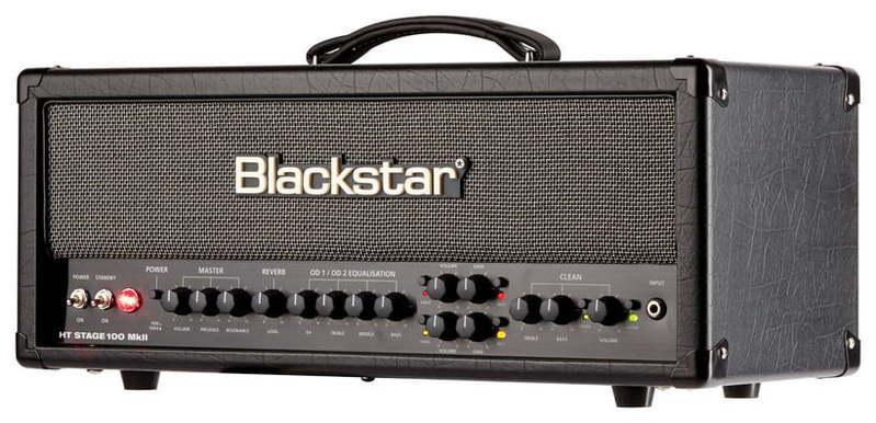 Усилитель головы Blackstar HT STAGE 100 Head MkII концертный усилитель звука 100 вт