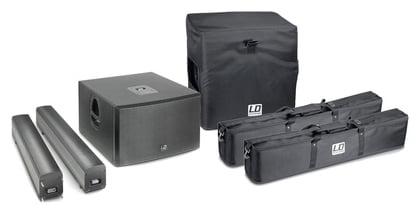 Комплект акустических систем LD Systems Maui 44 Bundle сумка и чехол для студийных приборов ld systems ld maui 28 g2 sat bag