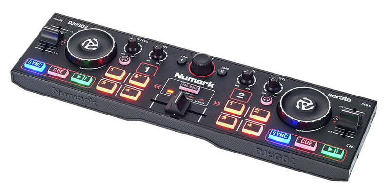 MIDI, Dj контроллер Numark DJ2GO2 dj оборудование в россии недорого