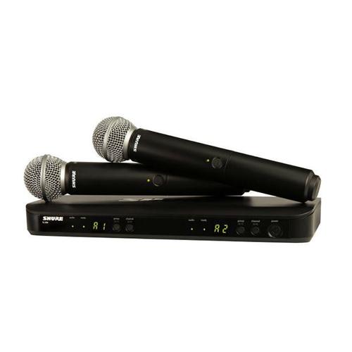 Готовый комплект радиосистемы Shure BLX288E/SM58 K3E 606-638 MHz готовый комплект радиосистемы shure blx24e sm58 m17