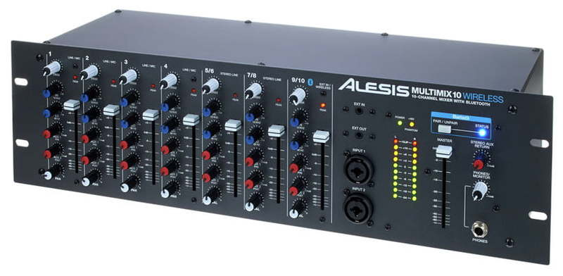 Рэковый микшер Alesis Multimix 10 Wireless midi контроллер alesis sample pad