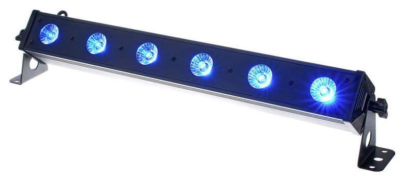 LED Bar EUROLITE LED Bar-6 QCL RGBW генератор дыма eurolite dynamic fog 600