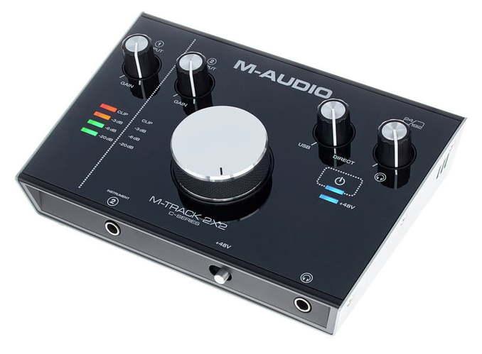 Звуковая карта внешняя M-Audio M-Track 2X2 akg pae5 m