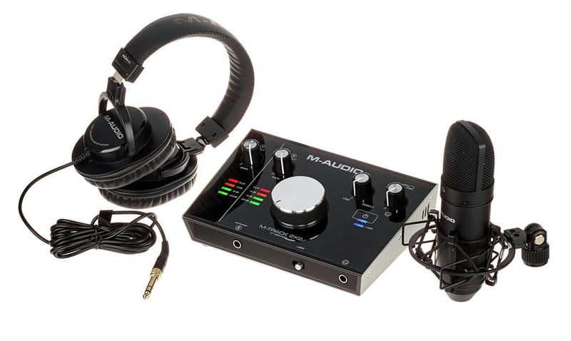 Звуковая карта внешняя M-Audio M-Track 2×2 Vocal Studio Pro