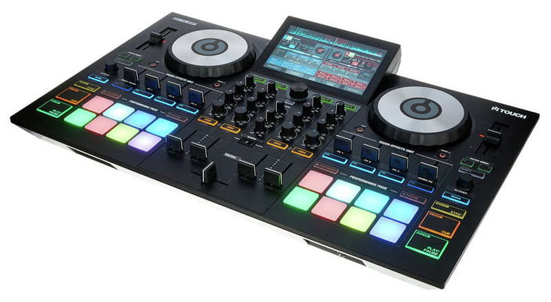 MIDI, Dj контроллер Reloop Touch midi dj контроллер dj techtools midi fighter twister wh