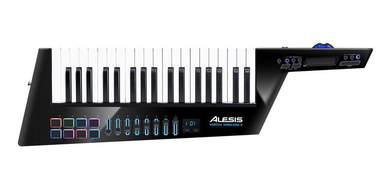 MIDI-клавиатура 37 клавиш Alesis Vortex Wireless 2 радиосистема alesis miclink wireless