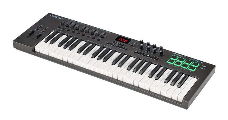MIDI-клавиатура 49 клавиш Nektar Impact LX49+