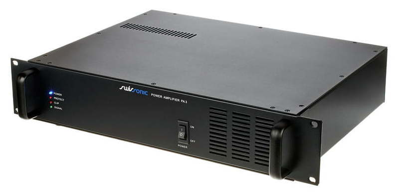 Трансляционный усилитель Swissonic PA 3 усилитель мощности 850 2000 вт 4 ом behringer europower ep4000