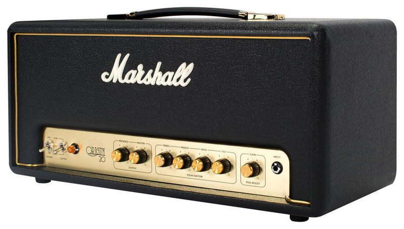 Усилитель головы MARSHALL Origin 20 Head комбо для гитары marshall jvm205c