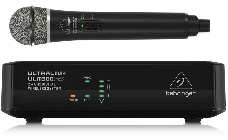 Готовый комплект радиосистемы Behringer ULM300MIC 2,4 GHz пульт behringer x1622usb