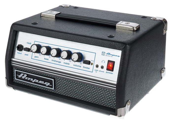 Усилитель голова для бас-гитары AMPEG Micro VR басовый усилитель ampeg svt 3pro