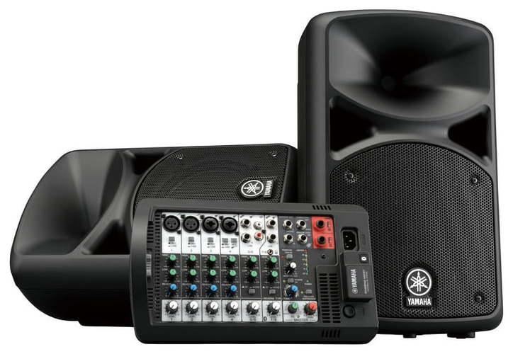 Комплект акустических систем Yamaha Stagepas 400BT звукоусилительный комплект yamaha yamaha yamaha stagepas 600i