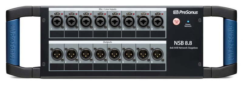 Stage box PreSonus NSB 8.8 the boy next door