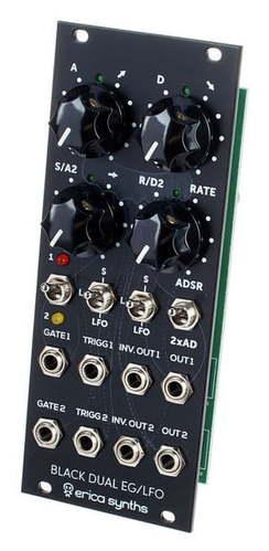 Модульный синтезатор Erica Synths Black Dual EG/LFO настенный громкоговоритель eurosound eg 26 black