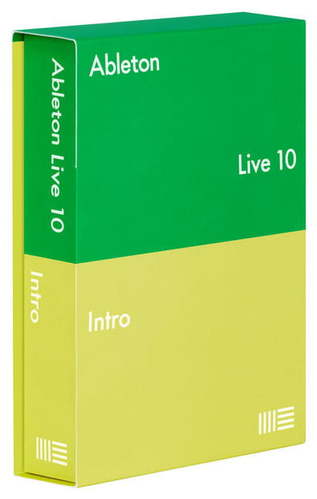 Софт для студии Ableton Live 10 Intro Edition