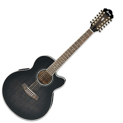 Электроакустическая гитара Ibanez AEL2012E TRANSPARENT BLACK SUNBURST электроакустическая гитара ibanez aw65ece lg