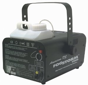 Генератор дыма AMERICAN DJ FogStorm 1200 HD генератор дыма eurolite dynamic fog 600