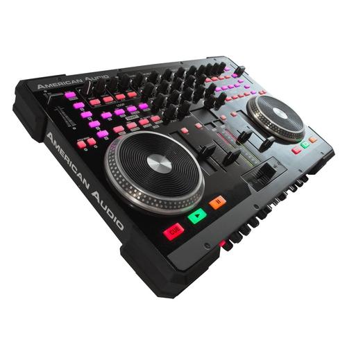 MIDI, Dj контроллер American Audio VMS4 technica audio technica головка ath msr7se установлена портативная гарнитура с высоким разрешением качества hifi