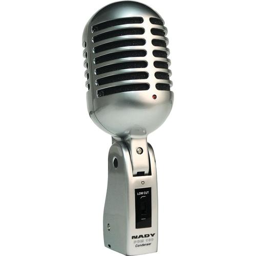 Конденсаторный микрофон Nady PCM-100 jinghua jwd pcm 1 золотой микрофон шума высокой чувствительности миниатюрный микрофон расстояние большой ключ рекордер