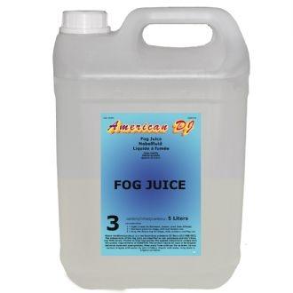 Жидкость для генераторов эффектов AMERICAN DJ Fog juice 3 heavy 5л производители деионизированная вода 5л