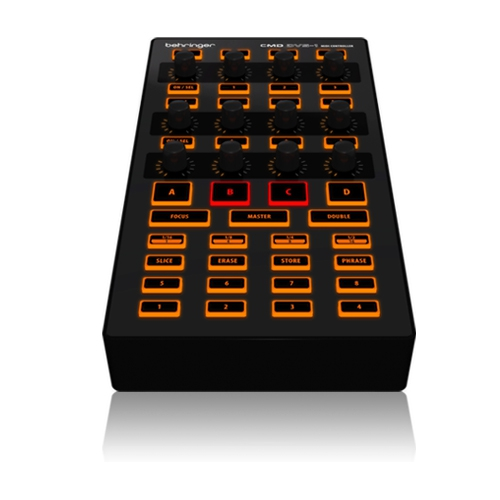 MIDI, Dj контроллер Behringer CMD DV-1 behringer dx626 dj