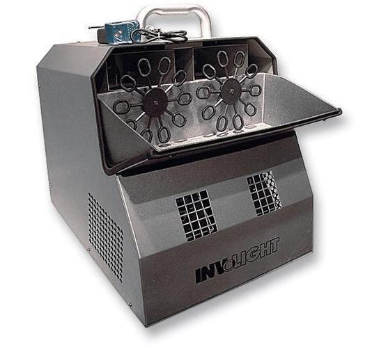 Генератор мыльных пузырей INVOLIGHT BM300 генератор мыльных пузырей бу
